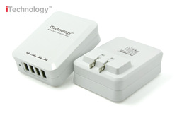 6.8A multi usb travel charger, for 2 Tablet and 2 Smart Phone