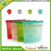 Food grade silicone storage bag with FDA and LFGB standard
