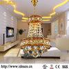 modern crystal chandelier crystal ball creative pendent light