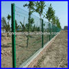DM powder coated wire mesh fence post of China(manufacture/ISO9001)