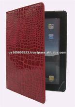 Folio Leather cover case for Apple iPAD 3 wake/sleep