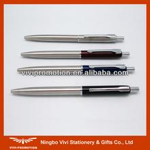 2015 New Promotional Stainless Steel Retractable Parker Pen (VBP046)