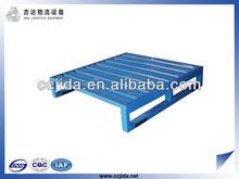 4 way steel pallet