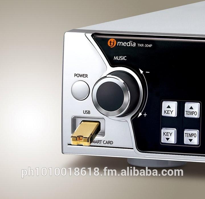 TJ MEDIA Model TKR-304P : HDD Karaoke Player (500GB)