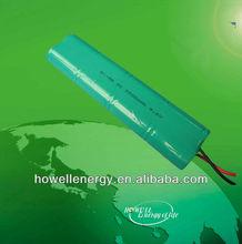9.6v SC ni-mh battery packs /rechargeable battery packs 3500mah