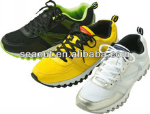 Fashionable men's sports shoes, PU upper material