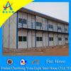 low cost color steel sandwich panel Prefab house