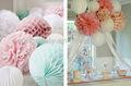 artesanal de papel e material de decoração para casa e artigos para festas