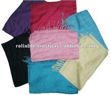 Mix Color Twill Viscose Pashmina Shawls
