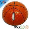 2.4g rf sem fio receptor mini basquete laranja mouse para pc