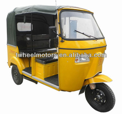 Bajaj Passenger Tricycle With Rear engine, Bajaj Three Wheel