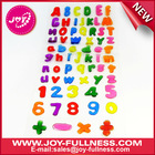 letters and numbers Gel sticker for kids