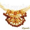 22K Kundan Diamond Necklaces, Jaipur Kundan Necklaces, 22K Gold Kundan Jewellery