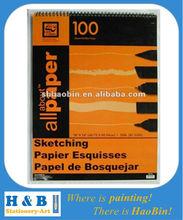 18''x24'' professional sketching paper pad