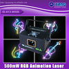 Hot Sale 500mW ILDA rgb mini animation laser light