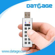 Datage UFlash250 Keypad Hardware Encryption USB Flash Drive