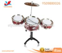 2013 new toys & cheap promotional jazz drum set toy kids plastic drum set