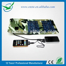CE/ROHS solar panel cell phone charger, 18650 solar battery charger use for mobile phone