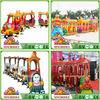 Safari elephant amusement park electric train,electric train rides for sale