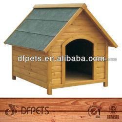 Cute Design Wooden Dog Kennel DFD009