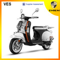 2014 o novo scooter clássica, retro e durável 50cc certificado da cee, epa, certificado dot
