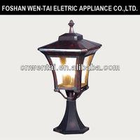 good quality decorative electric exterior post light