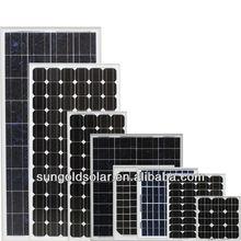 High efficiency 100w 12v mono Bosch solar panel