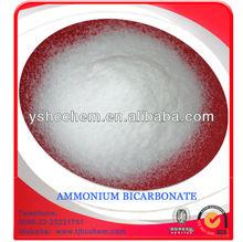 ABC,ammonium bicarbonate food grade 99.2% min H.S. CODE 28369940