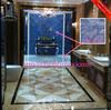 glazed polished ceramic tiles , gloss porcelain floor tiles,blue tiles