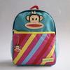 Eco-friendly customized durable cartoon monkey style school bags