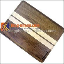 Black Walnut spell Maple Wooden Case for ipad