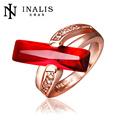 lekani rosa de oro antiguo ruby ring