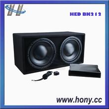 "Dual 12"" Car Subwoofer Speaker"