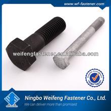 china high quality ss316 bolt nut hex flange bolt manufacturer&supplier&exporter