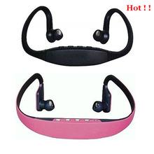 High quality MP3 player wireless headphone with FM radio