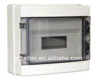 customized precision distribution box din rail type enclosure