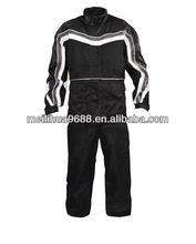 Heat Protection Waterproof Breathable Taslon Rain Suit