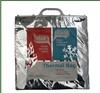 Custom logo printed thermal food storage bag foil carry bag