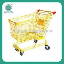 Australian style Zinc with powder coating shopping trolley