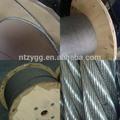1x7 fio mensageiro padrão 7x7 7x19 aeronaves aço corda 6x36ws cordas de pesca