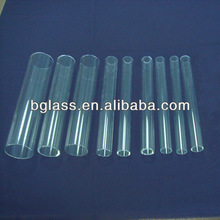 high borosilicate glass tube with smaller diameter