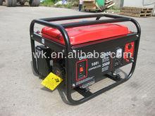 Hot Sale Digital 5000E 6.5hp honda engine, low noise, electric start, home use, petrol gasoline generator