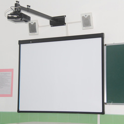 Multimedia interactive whiteboard for teaching