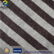2014 New Linen Tencel Striped Fabric