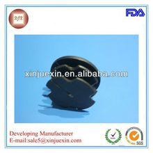 dongguan customized perfect end cap for steel tube rectangular manufacturing