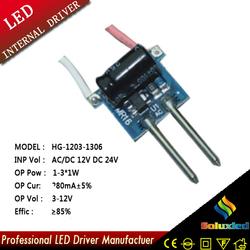 1-3x1w MR16 led driver