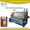 MJSF-210C oil heating single facer corrugated cardboard making machine(Claw)