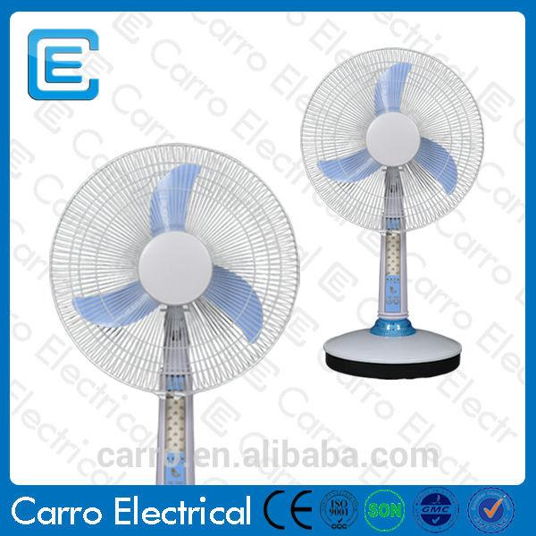 Afghanistan and pakistan market 12v 16 inch 12v dc fan for 12v dc table fan price