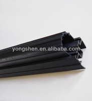 Best quality u channel plastic extrusion