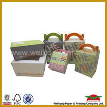 custom paper fast food packaging box wholesale